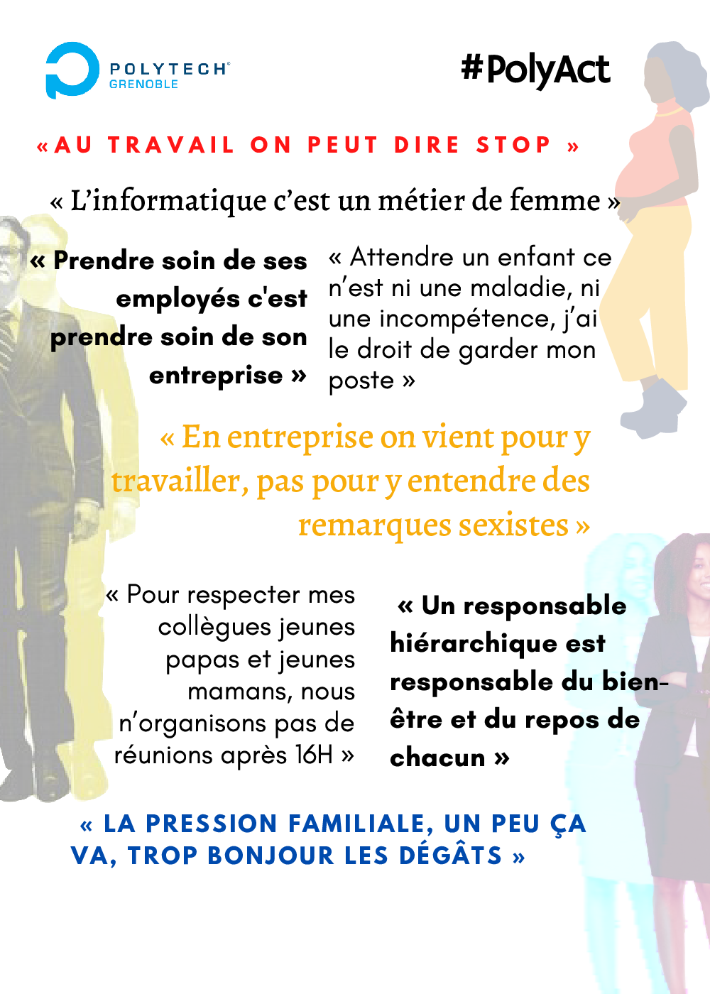Flyer du Poly'Act #1